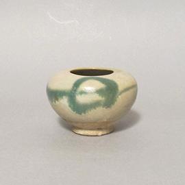 長沙窯緑彩小壺